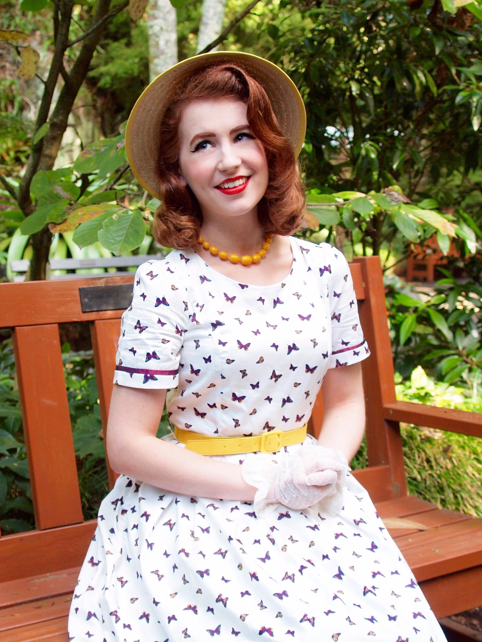 bcab62cda Review: Dressific Butterfly dress – Miss Hero Holliday