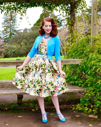 be782011157 The size range at Lady V London caters for UK8-32 across their Lady Vintage  and Lady Voluptuous brands. The Lily dress is a Lady Vintage piece