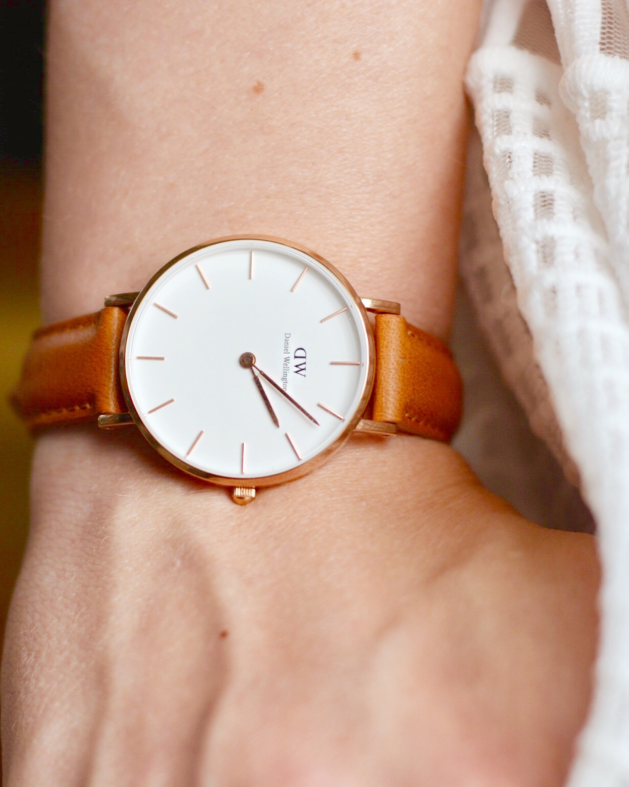 Daniel wellington's iconic watches are available in stores and online.